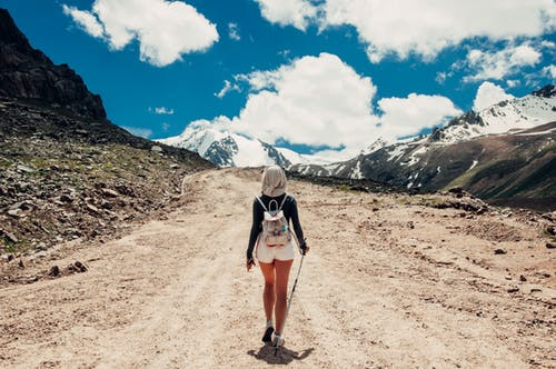 Mountain Hiking And Challenging Yourself